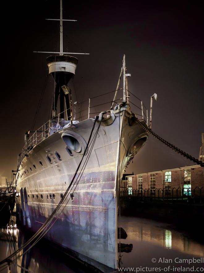 HMS Caroline Jutland 1916